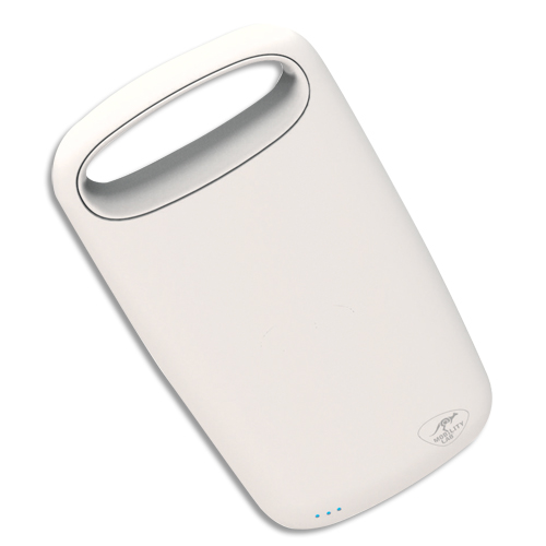Code 4653128, Désignation: MOBILITY Pebble Slim Rubber 4000 mAh blanc ML309101